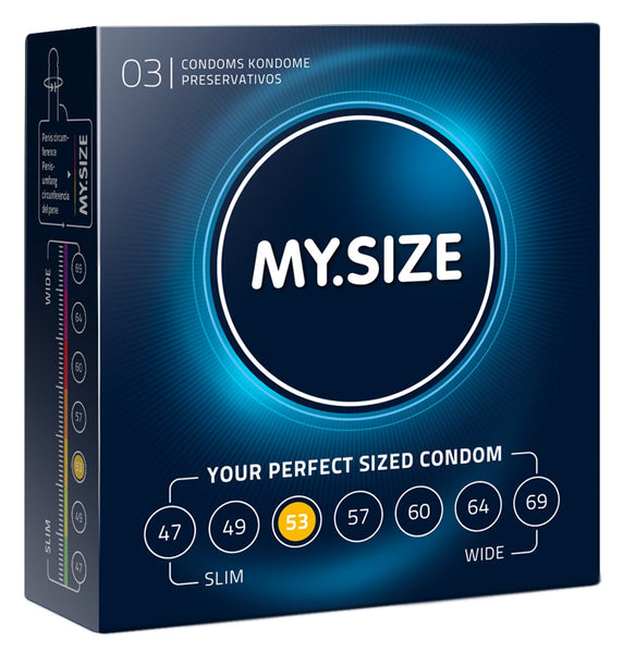 MySize 3er Pack - 53mm