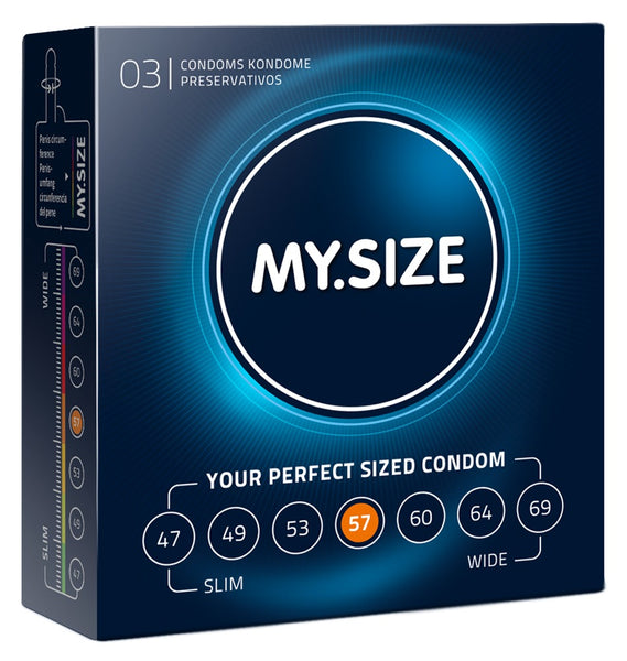 MySize 3er Pack - 57mm