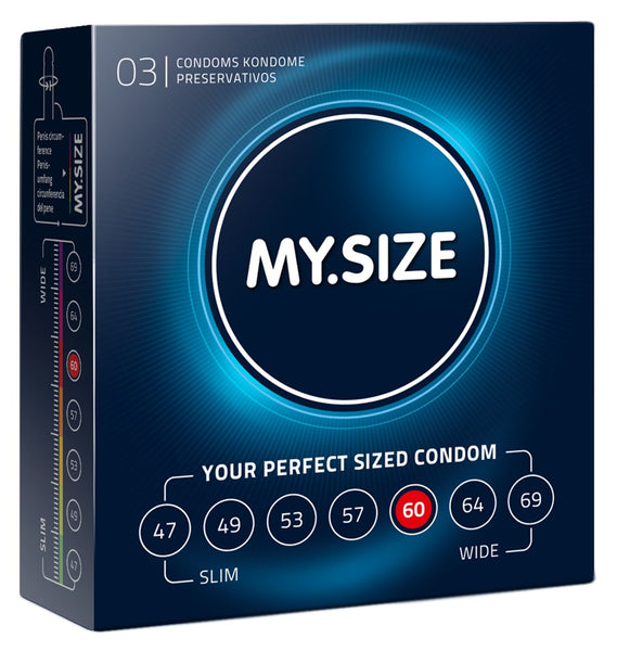 MySize 3er Pack - 60mm