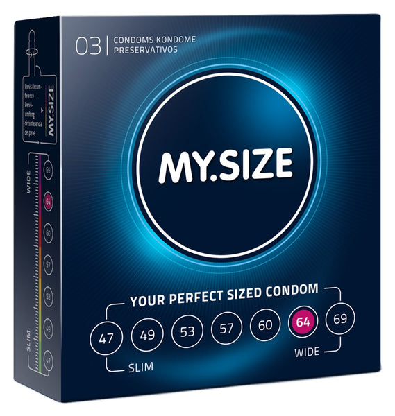MySize 3er Pack - 64mm