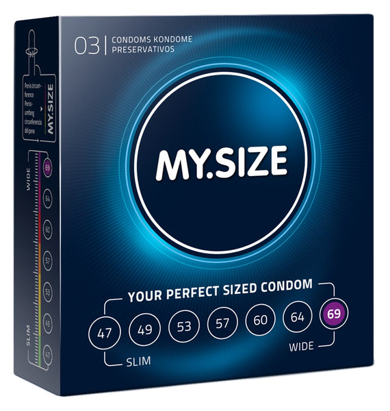 MySize 3er Pack - 69mm