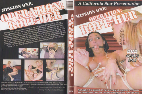 DVD, Opperation Rope-Her