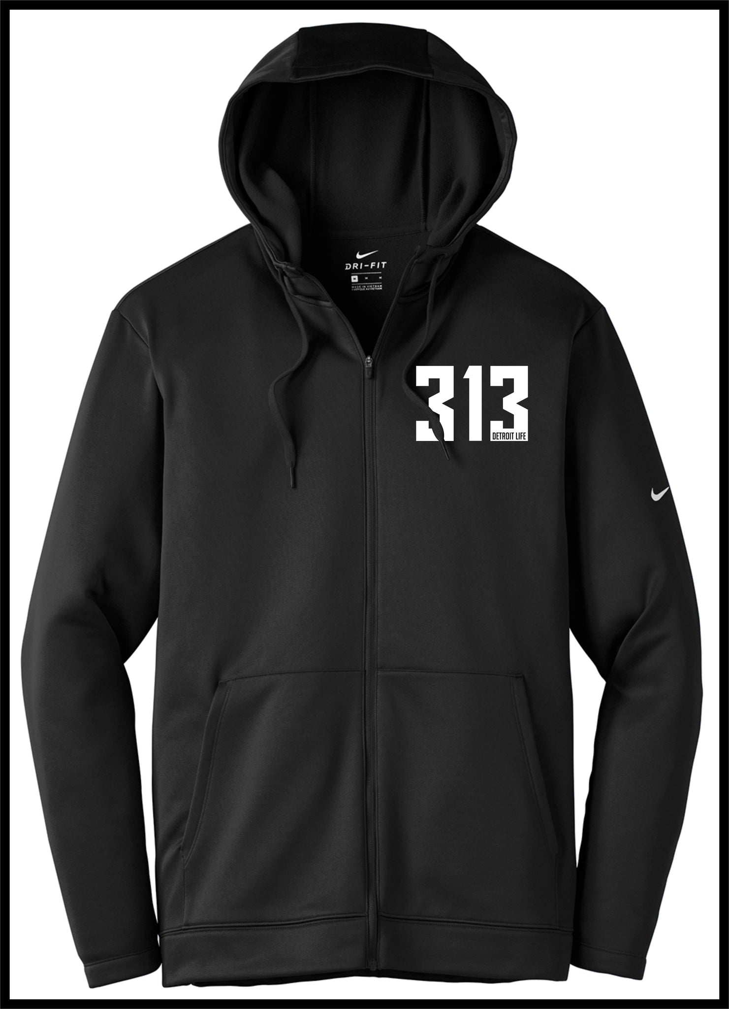 NIKE DETROIT LIFE 313 ZIP UP