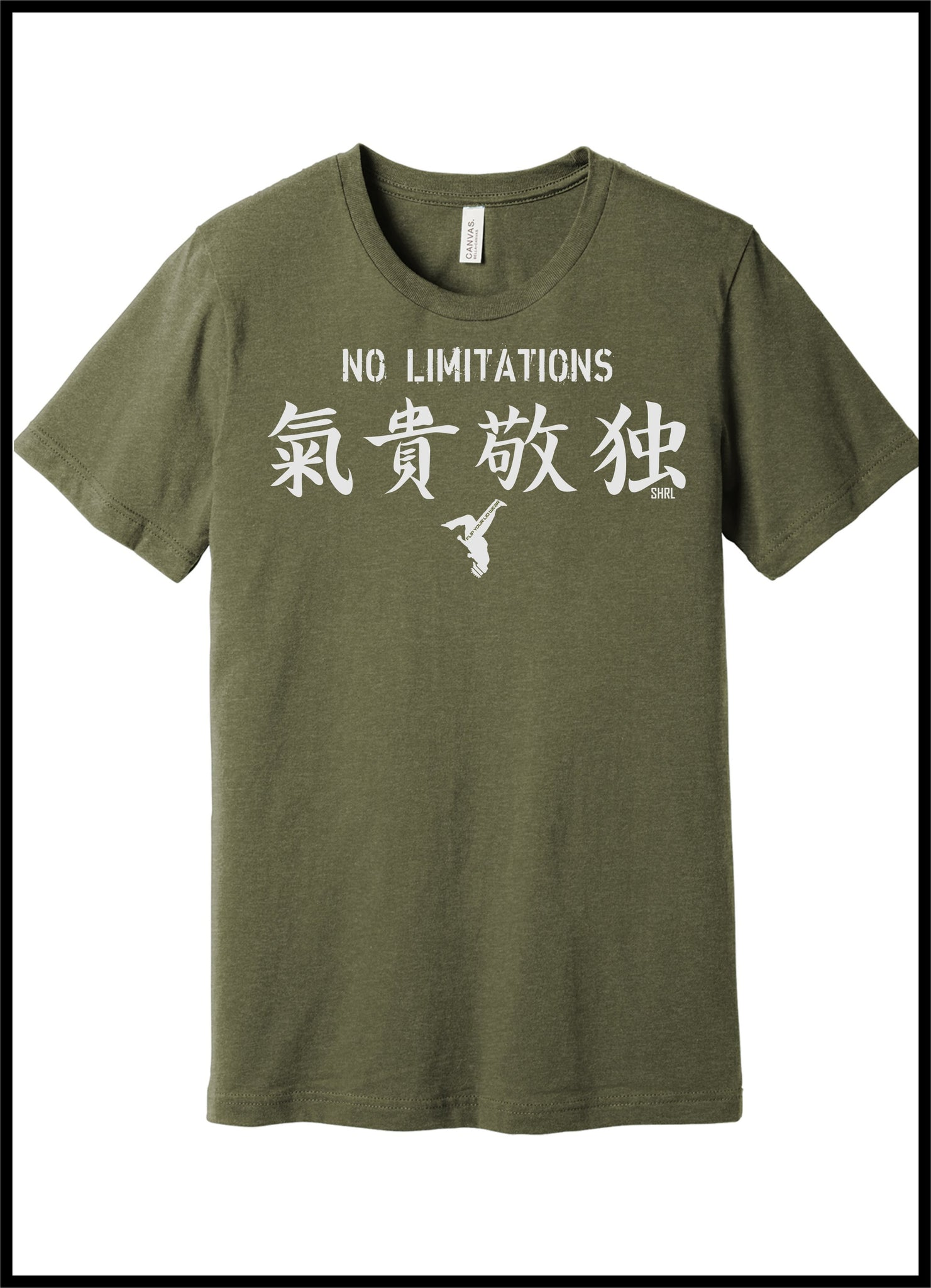 NO LIMITATIONS TEE