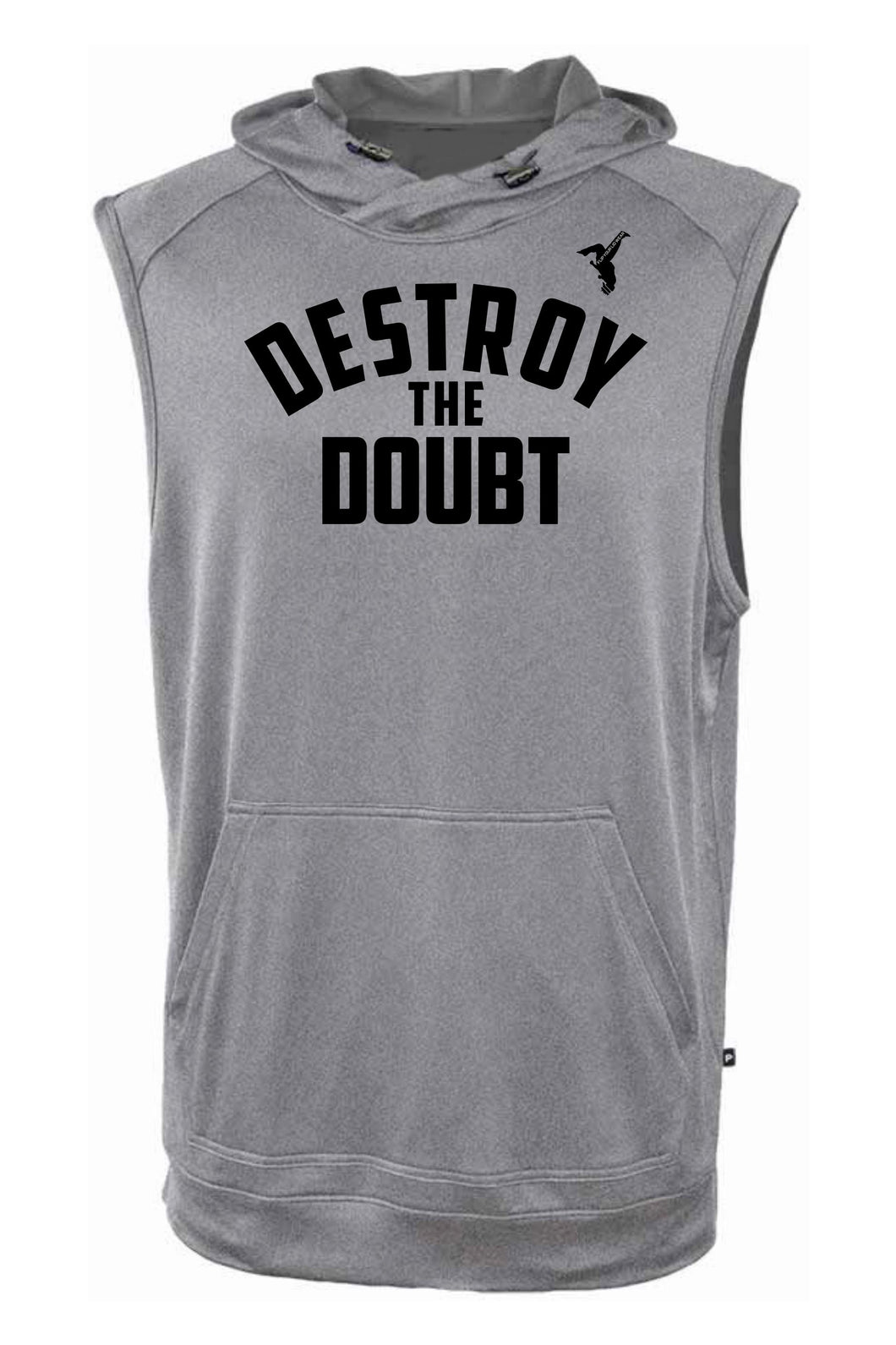DESTROY THE DOUBT SLEEVELESS HOODIE