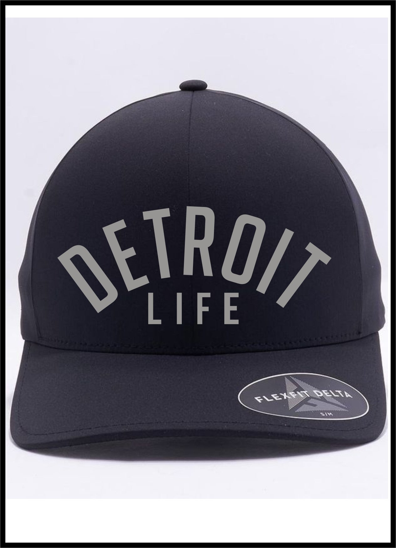 DETROIT LIFE FITTED HAT, DETROIT LIFE HAT, DETROIT LIFE WATERPROOF HAT