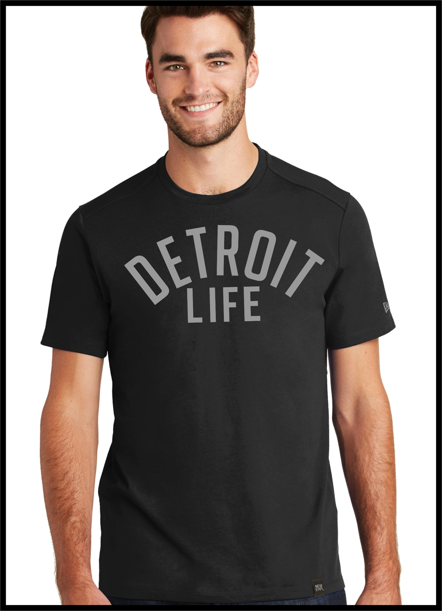 DETROIT LIFE T SHIRT NEW ERA