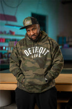 Load image into Gallery viewer, DETROIT LIFE CAMO HOODIE