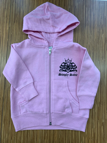 TODDLER SIMPLY SADIE ZIP UP HOODIE