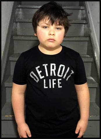 KIDS DETROIT LIFE T SHIRT