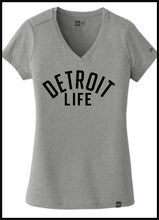 Load image into Gallery viewer, WOMENS FIT DETROIT LIFE T SHIRT NEW ERA
