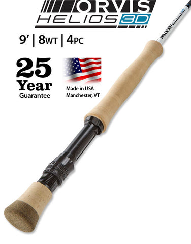 Orvis Helios 3D 908-4 Fly Rod