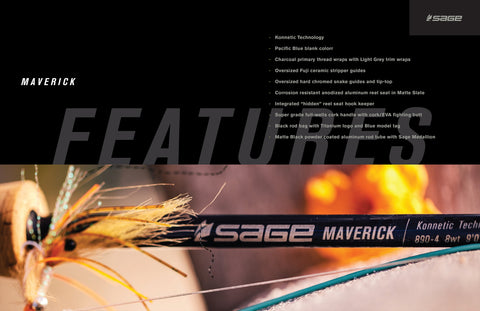 Sage Maverick Fly Rods