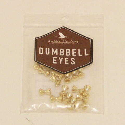 Brass Rounded Dumbbell Eyes