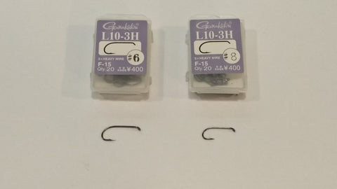 Gamakatsu L10-3H Fly Hooks (Pack of 20)