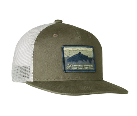 Sage Patch Trucker