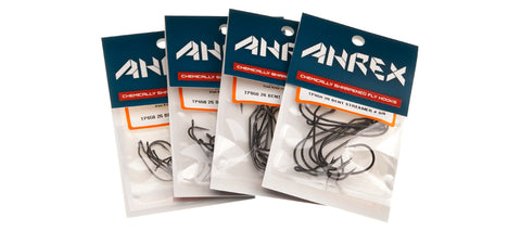Ahrex TP650 26 Degree Bent Streamer Fly Hooks