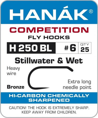 Hanak H250BL Stillwater & Wet Fly Hooks