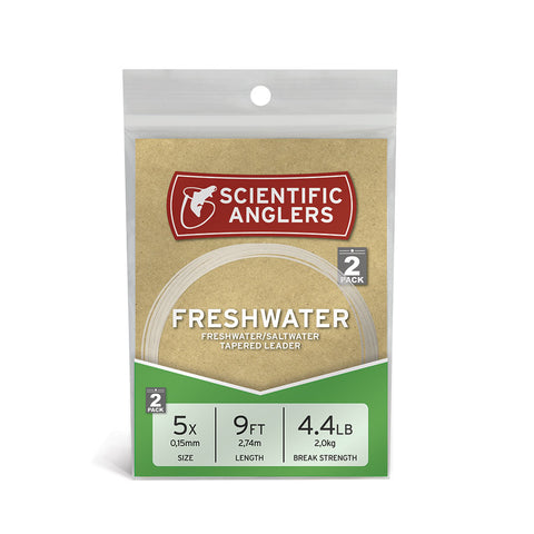 Scientific Anglers Freshwater Leaders Single Pack