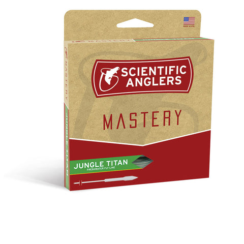 Scientific Anglers Mastery Jungle Titan Fly Lines