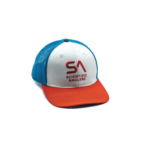 Scientific Anglers Red-White-Blue Trucker Cap