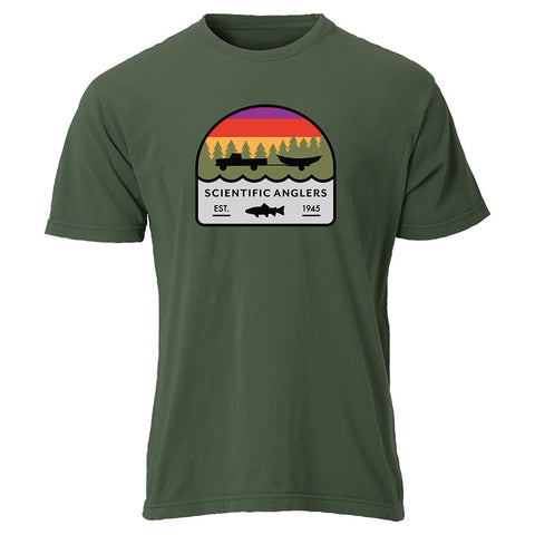 Scientific Anglers Olive Truck/Drift Boat Tees