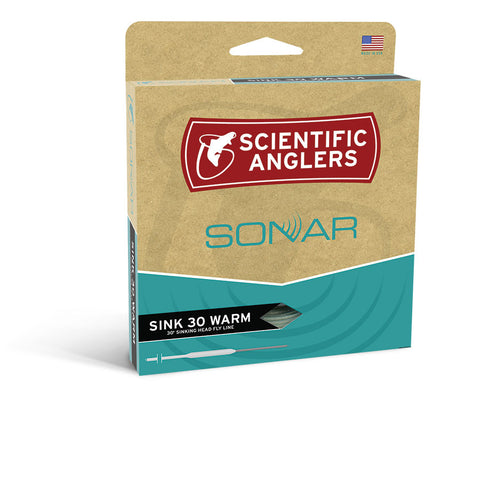 Scientific Anglers Sonar Sink 30 Warmwater Fly Line