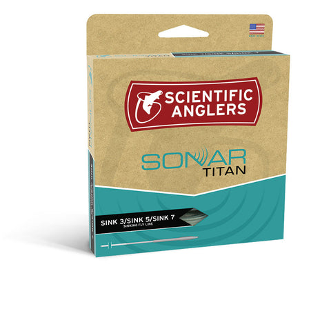 Scientific Anglers Sonar Titan Sink 3/Sink 5/Sink 7 Fly Lines