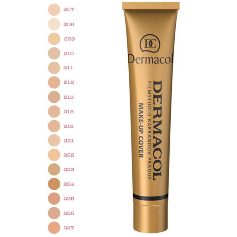 Dermacol™ - water-repellent makeup