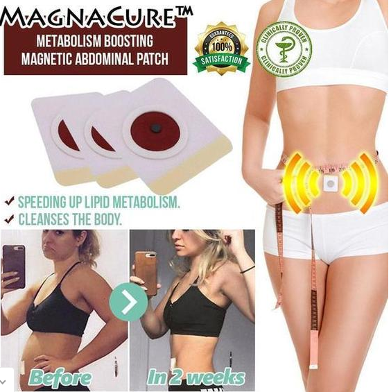 MagnaCure™-Magnetic Abdominal Patch