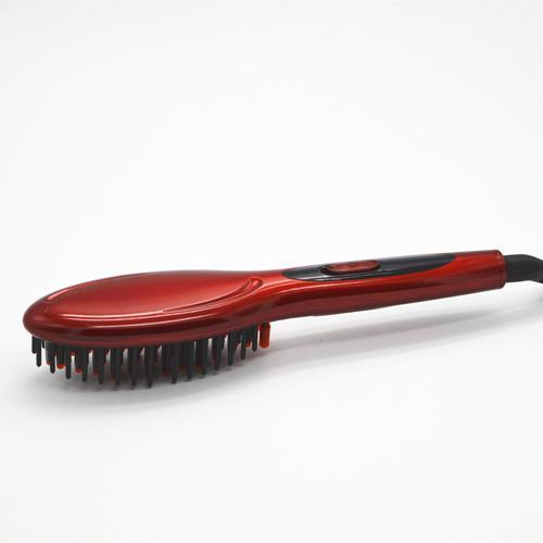 Vanessa™ - Hair brush and straightener - 2 in 1