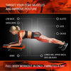 Dynamic Ab Plank Workout, Interactive Fitness Board