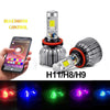 Multi-color LED Headlight Bulb Kit