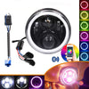 Special LED Headlight with RGB Music Mode