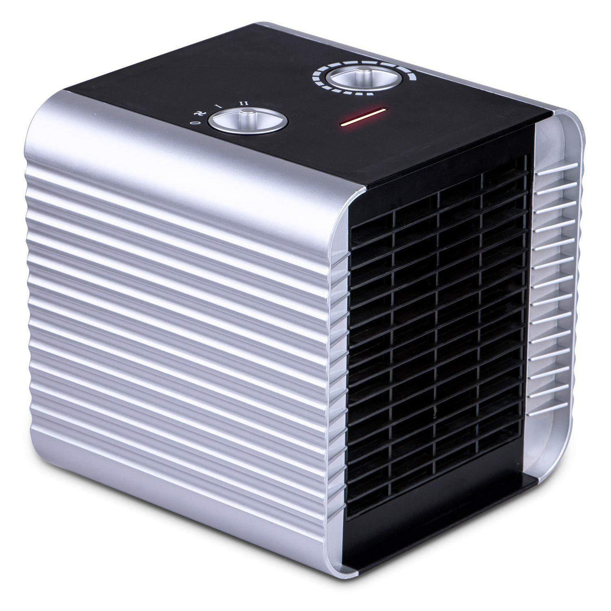 Quiet Ceramic Space Heater with Adjustable Thermostat