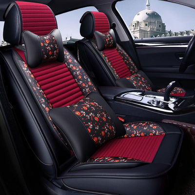 Leather Car Back Seat Cover