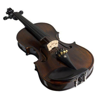 1-Piece Back Solid Wood Violin With Case