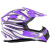 Youth Off Road Helmet,Purple - XL