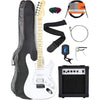 Electric Guitar With Maple Neck Bundle