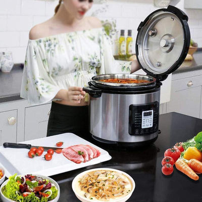8-in-1 Electric Stainless Steel Multi Rice Cooker