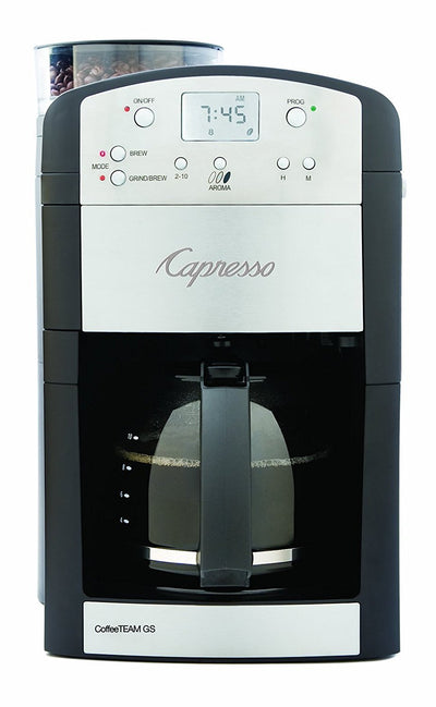 10-Cup Digital Coffeemaker with Conical Burr Grinder