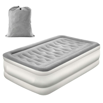 Air Mattress With Built In Electric Pump And Storage Bag