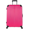 4-Wheel Lightweight Checked Luggage,Pink