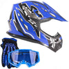 Offroad Gear Helmet Set,Medium