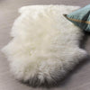 Single Luxury Fur Ivory Rug