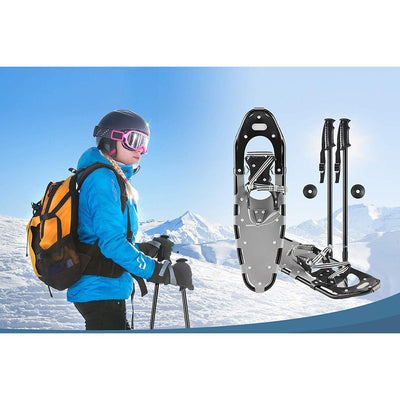 Light Weight Adult Snowshoes Poles Carrying Tote
