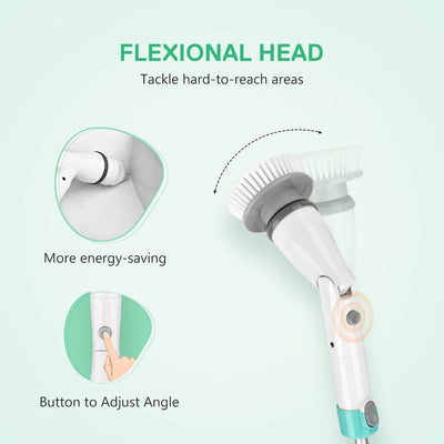 Bathroom Electric Spin Cleaning Brush