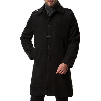 Thick Warm Wool Mid-long Coats
