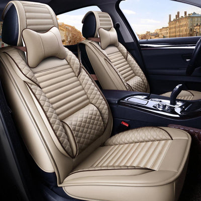 Leather Car Seat Cover Cushion Protector
