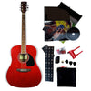 Full Size Acoustic Guitar Starter Kit
